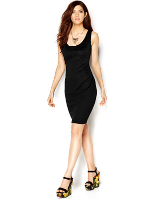 Bar III Lasercut Sheath Dress (Macy's)