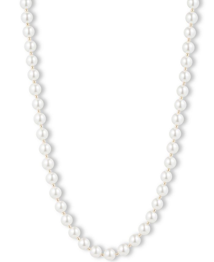 Anne Klein - Blanc Faux Pearl Collar Necklace