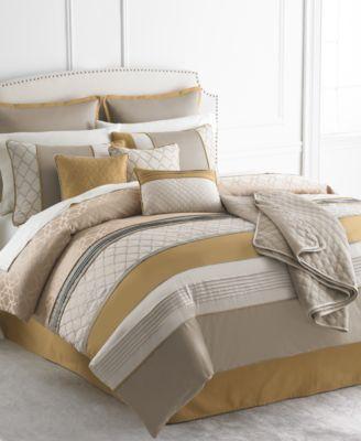CLOSEOUT! Calista 10 Piece California King Comforter Set
