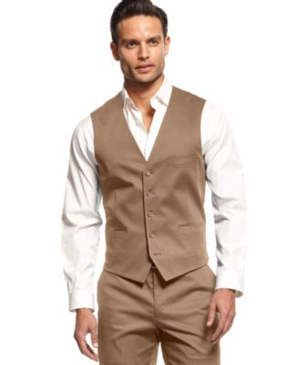 INC International Concepts Slim-Fit Cooper Vest