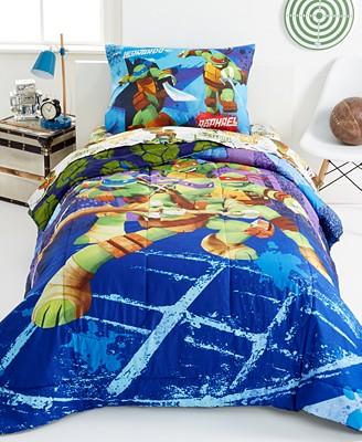 mutant turtles bedding totally