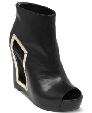 BCBGeneration Nene Wedge Booties Women's Shoes