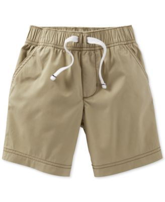 Toddler Boys' Khaki Shorts