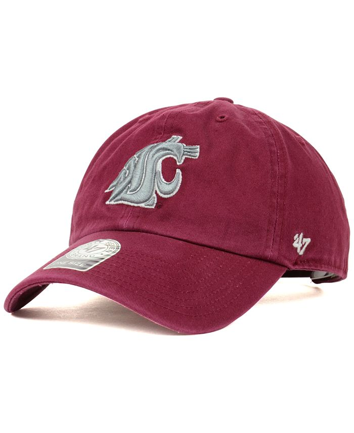'47 Brand - Washington State Cougars NCAA Clean-Up Cap
