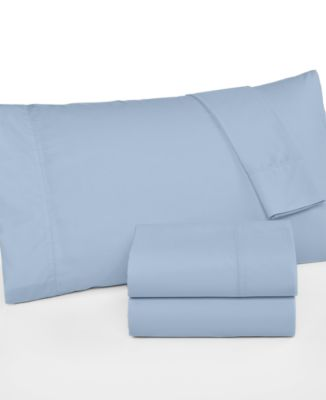 Martha Stewart Collection 360 Thread Count Cotton Percale Queen Sheet Set