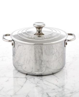 Le Creuset Stainless Steel 4-Qt. Soup Pot