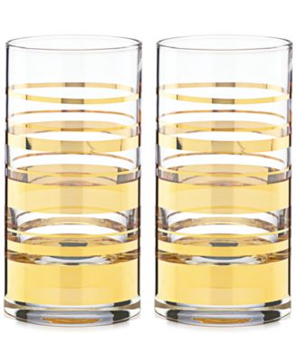 kate spade new york Hampton Street Set of 2 Highball Glasses