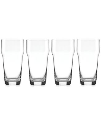 Lenox Tuscany Craft Beer Pint Glasses, Set of 4
