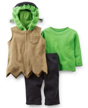Image of Carter's Baby Boys' 3-Piece Frankenstein Costume Set