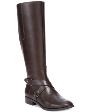 Nine West Blogger Tall Riding Boots Womens Shoes