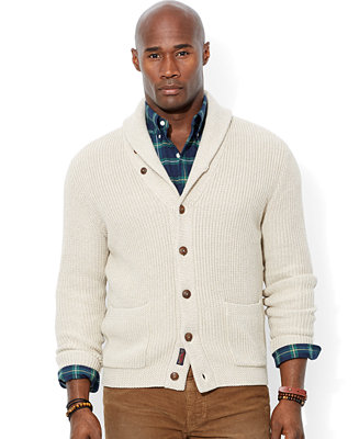 Polo Ralph Lauren Big And Tall Shawl Collar Cardigan Sweater Sweaters Men Macy S