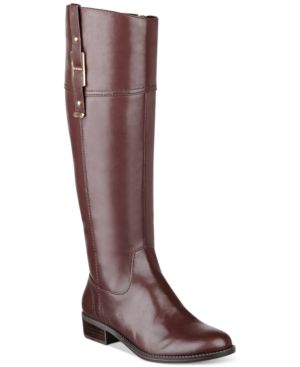 Tommy Hilfiger Womens Gibsy Tall Riding Boots Womens Shoes