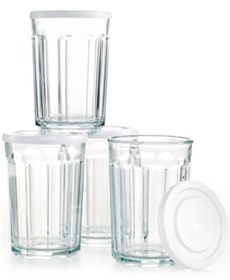 The Cellar Everyday Set of 4 Working Glasses, 21 oz.
