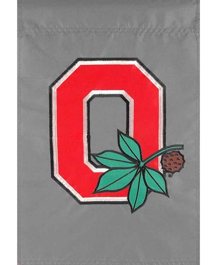 Party Animal - Ohio State Buckeyes Garden Flag