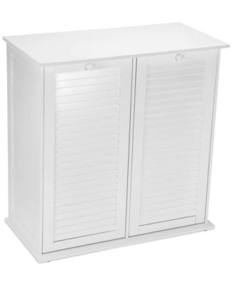 Household Essentials Tilt Out Laundry Double Sorter Cabinet