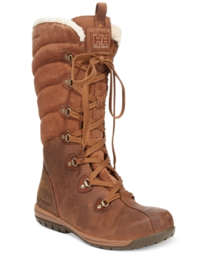 Helly Hansen Skuld4 Tall Faux-Fur Boots Womens Shoes