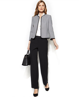 Anne Klein Petite Suit Separates Collection Wear To Work