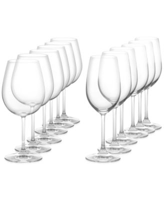 Image of Marquis by Waterford Vintage 12 Piece Red & White Wine Glass Set