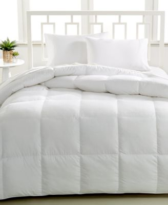 Hotel Collection Luxury Down Alternative Full/Queen Comforter, Hypoallergenic Polyester Fiberfill, 450 Thread Count 100% Cotton Cover, Only at Macy's