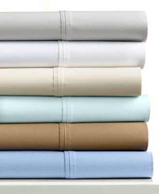 Avalon Cotton Sateen 750 Thread Count 6-Pc Queen Sheet Set