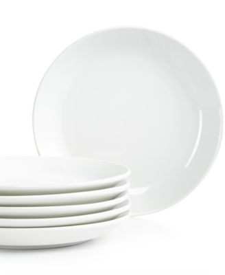 Martha Stewart Collection Everyday Entertaining Set of 6 Dessert Plates