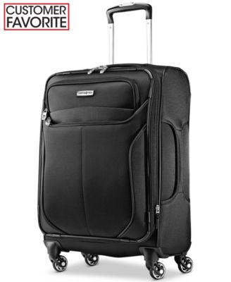 "Samsonite LifTwo 21"" Carry-On Upright Spinner Suitcase"