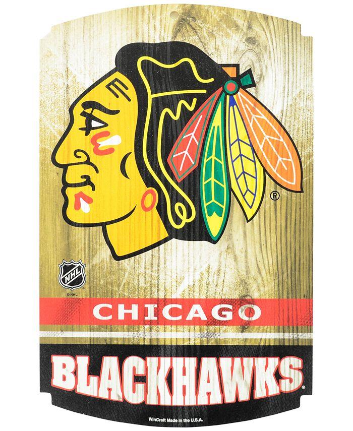 Wincraft - Chicago Blackhawks Wood Sign