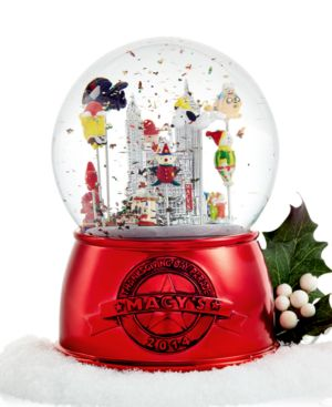 Macy's 2014 Thanksgiving Day Parade Snow Globe