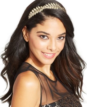 Josette Metal Leaves Headband $12.00 AT vintagedancer.com