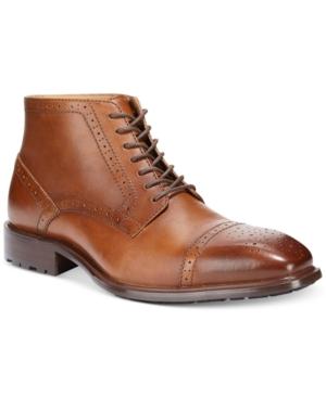 Alfani Malcolm Cap Toe Boots Mens Shoes