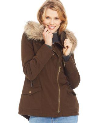 American Rag Hooded Parka Coat