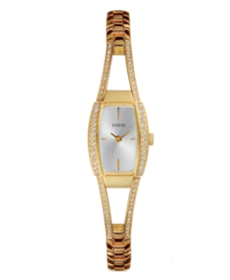 GUESS Watch, Women's Goldtone Stainless Steel Bracelet G85635L