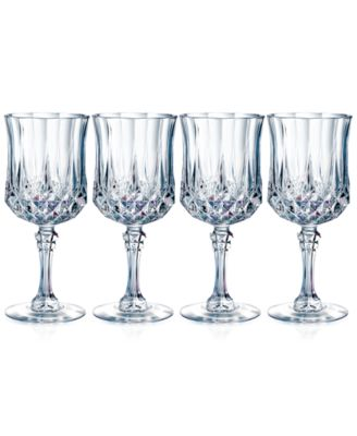 Longchamp Glassware, Set of 4 Diamax Goblets