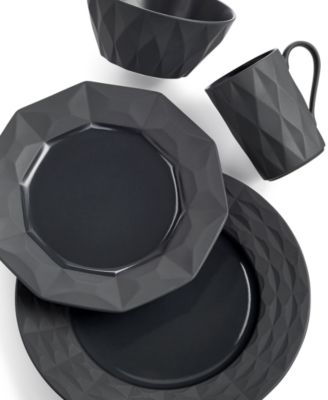 kate spade new york Dinnerware, Castle Peak Slate 4 Piece Place Setting