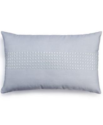"Bar III Leaflet 12"" x 20"" Decorative Pillow"