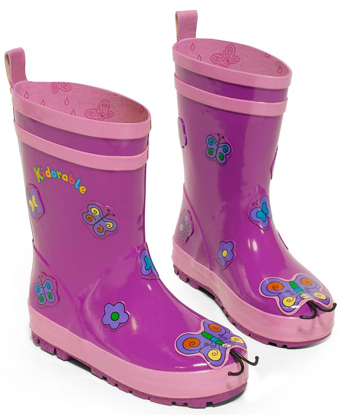 """Kidorable - """"Butterfly"""" Rain Boots"""