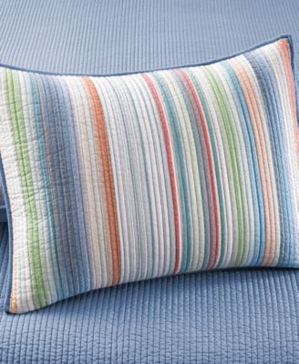 Martha Stewart Collection Chatham Stripe Standard Sham
