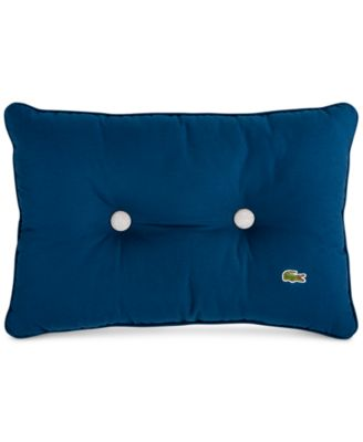 """Lacoste Home Padded Button 12""""x18"""" Decorative Pillow"""