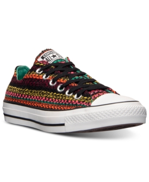 Converse Women's Chuck Taylor Ox Winter Knit Casual Sneakers