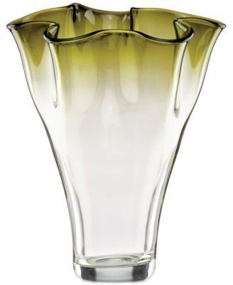 "CLOSEOUT! Lenox Organics Ombre Centerpiece Vase 12"""