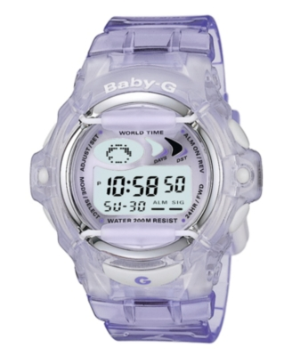 Baby-G Watch, Women's Digital BG169-6V - Sports Watches