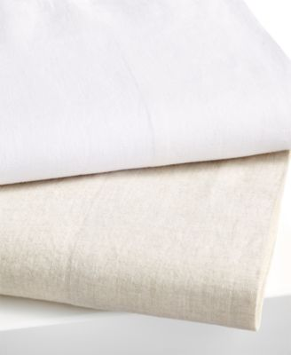 Hotel Collection Linen King Flat Sheet