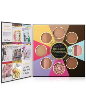 Too Faced The Little Black Book of Bronzers Bronzer Collecti