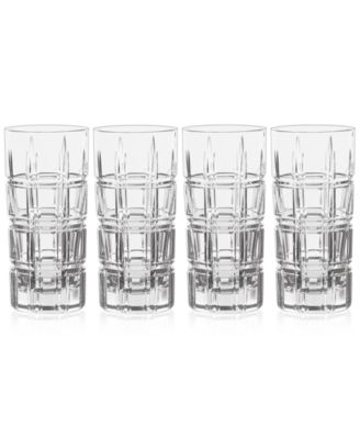Crosby Highball Glasses, Set of 4