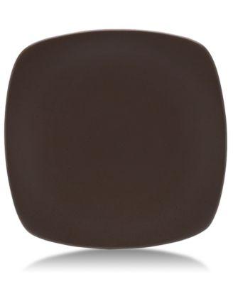 "Noritake ""Colorwave Chocolate"" Quad Large Plate, 11 3/4"""