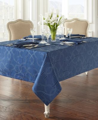 "Waterford Marilla 70"" x 84"" Tablecloth"