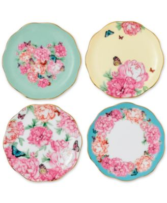 Miranda Kerr for Royal Albert Tidbit Plates Set of 4