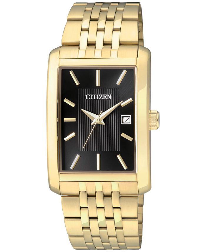 Citizen - Men's Gold-Tone Stainless Steel Bracelet Watch 38mm BH1673-50E
