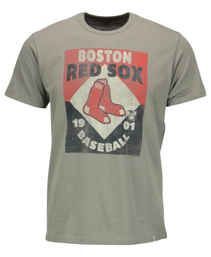 '47 Brand - Men's Boston Red Sox Knockaround Flanker T-Shirt