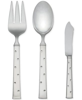 kate spade new york Larabee Dot 3-Piece Serving Set